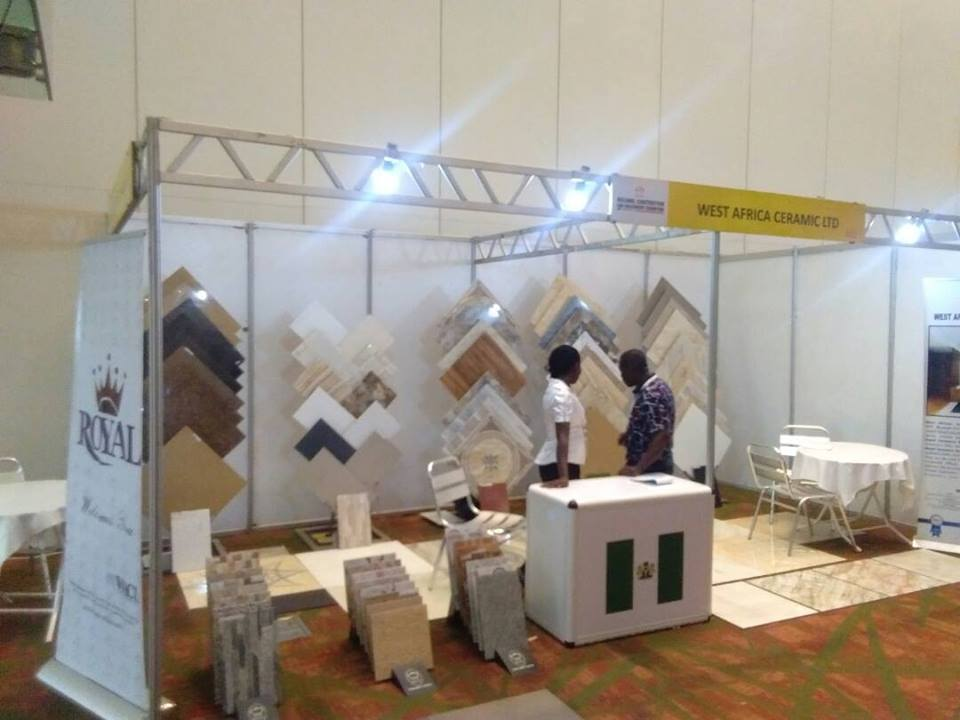 Royal Booth In Atlantic Exhibition Lagos Royal Tiles